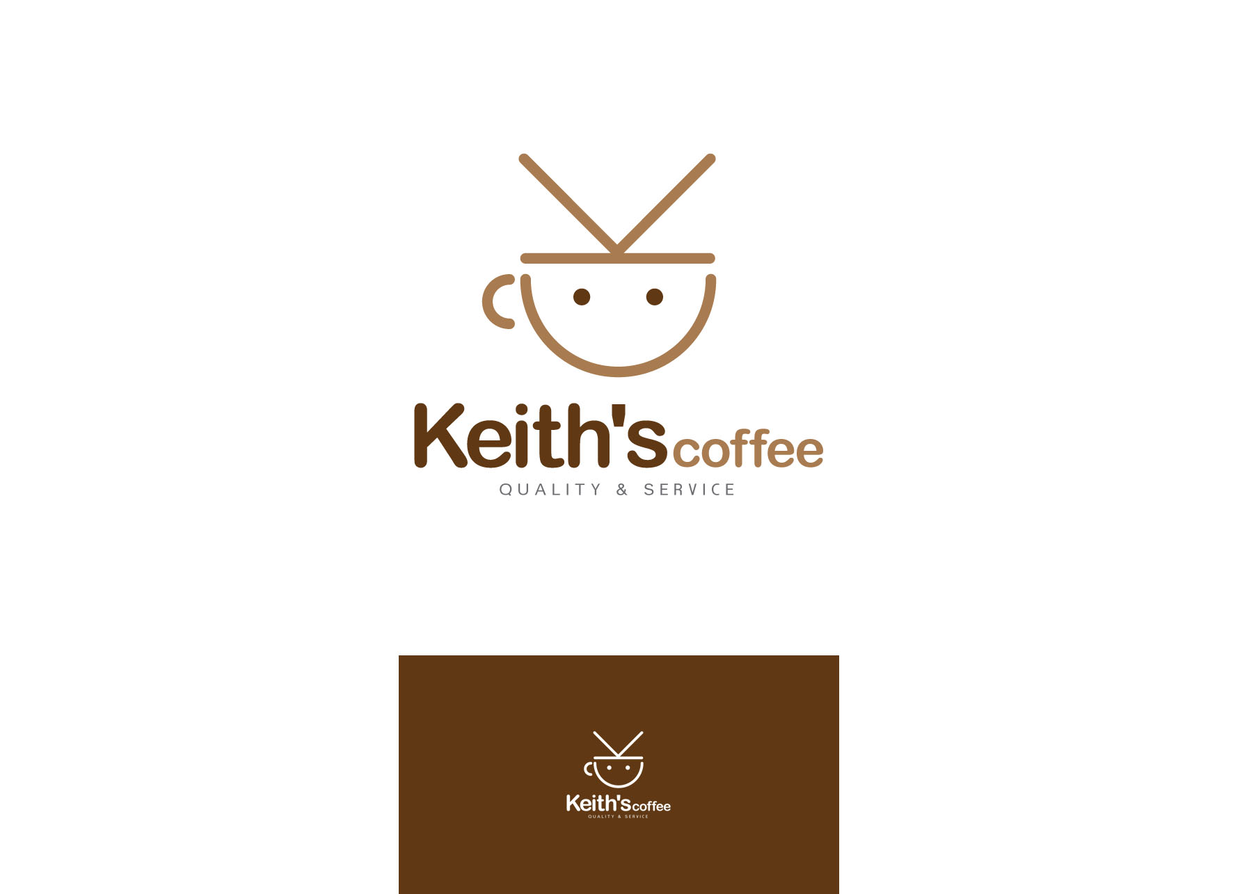 Logo Design by tanganpanas - Entry No. 60 in the Logo Design Contest Keef's coffee Logo Design.