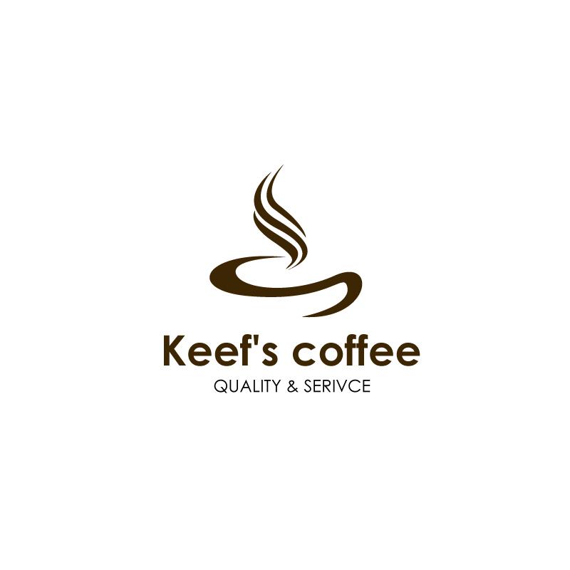 Logo Design by Gouranga Deuri - Entry No. 61 in the Logo Design Contest Keef's coffee Logo Design.