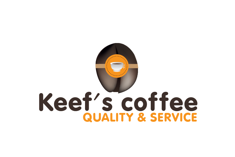 Logo Design by Private User - Entry No. 62 in the Logo Design Contest Keef's coffee Logo Design.