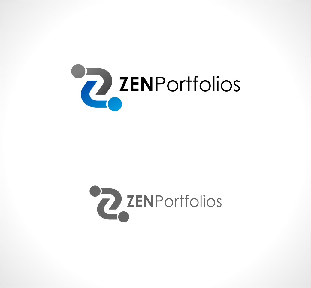 Logo Design by haidu - Entry No. 147 in the Logo Design Contest New Logo Design for ZEN Portfolios.