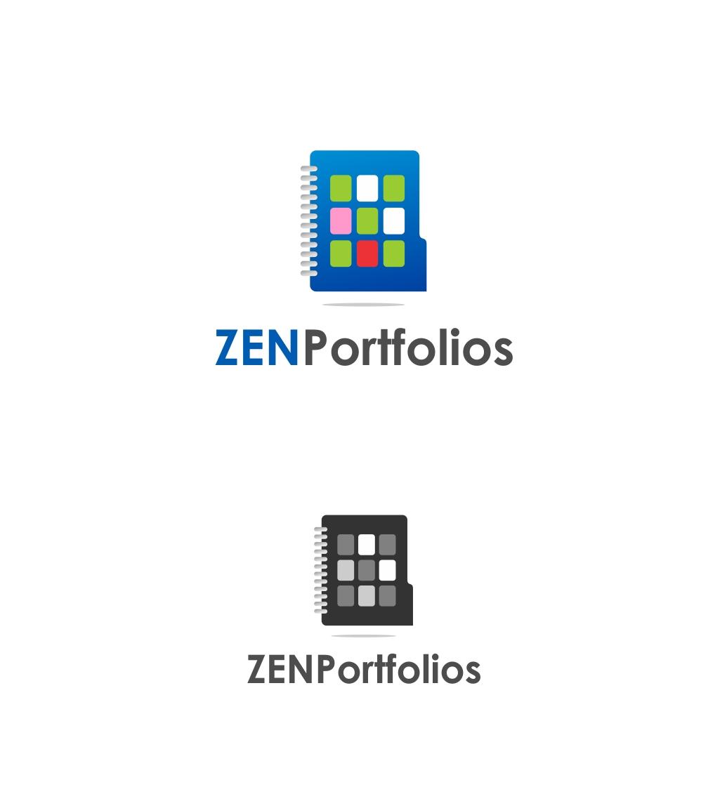 Logo Design by haidu - Entry No. 150 in the Logo Design Contest New Logo Design for ZEN Portfolios.