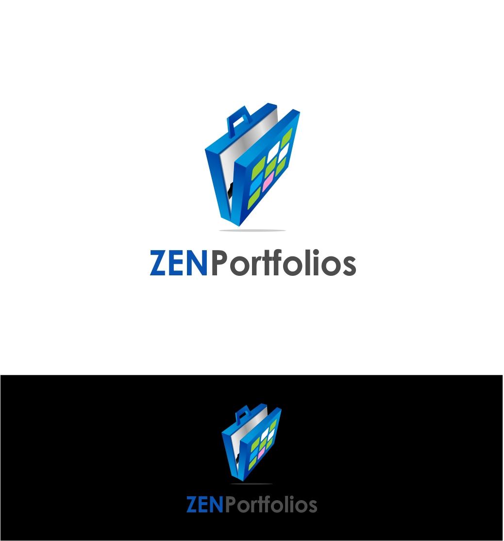 Logo Design by haidu - Entry No. 153 in the Logo Design Contest New Logo Design for ZEN Portfolios.
