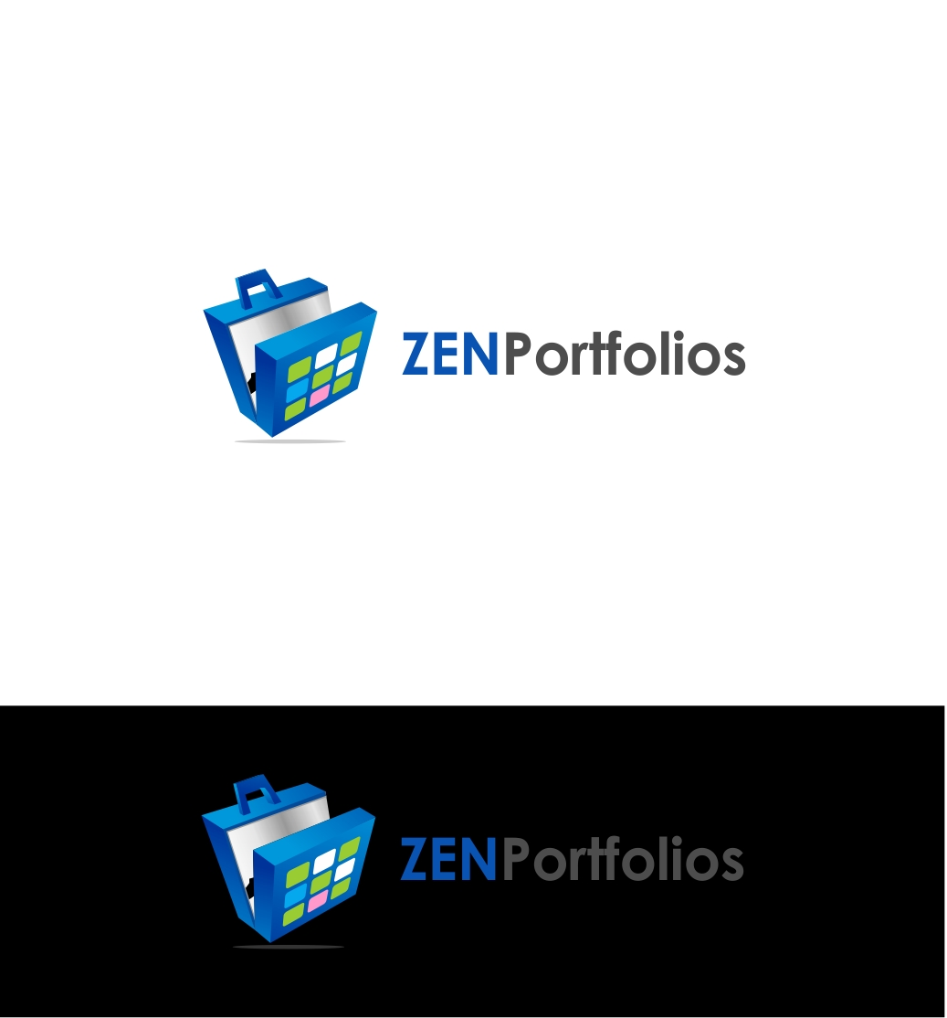Logo Design by haidu - Entry No. 154 in the Logo Design Contest New Logo Design for ZEN Portfolios.
