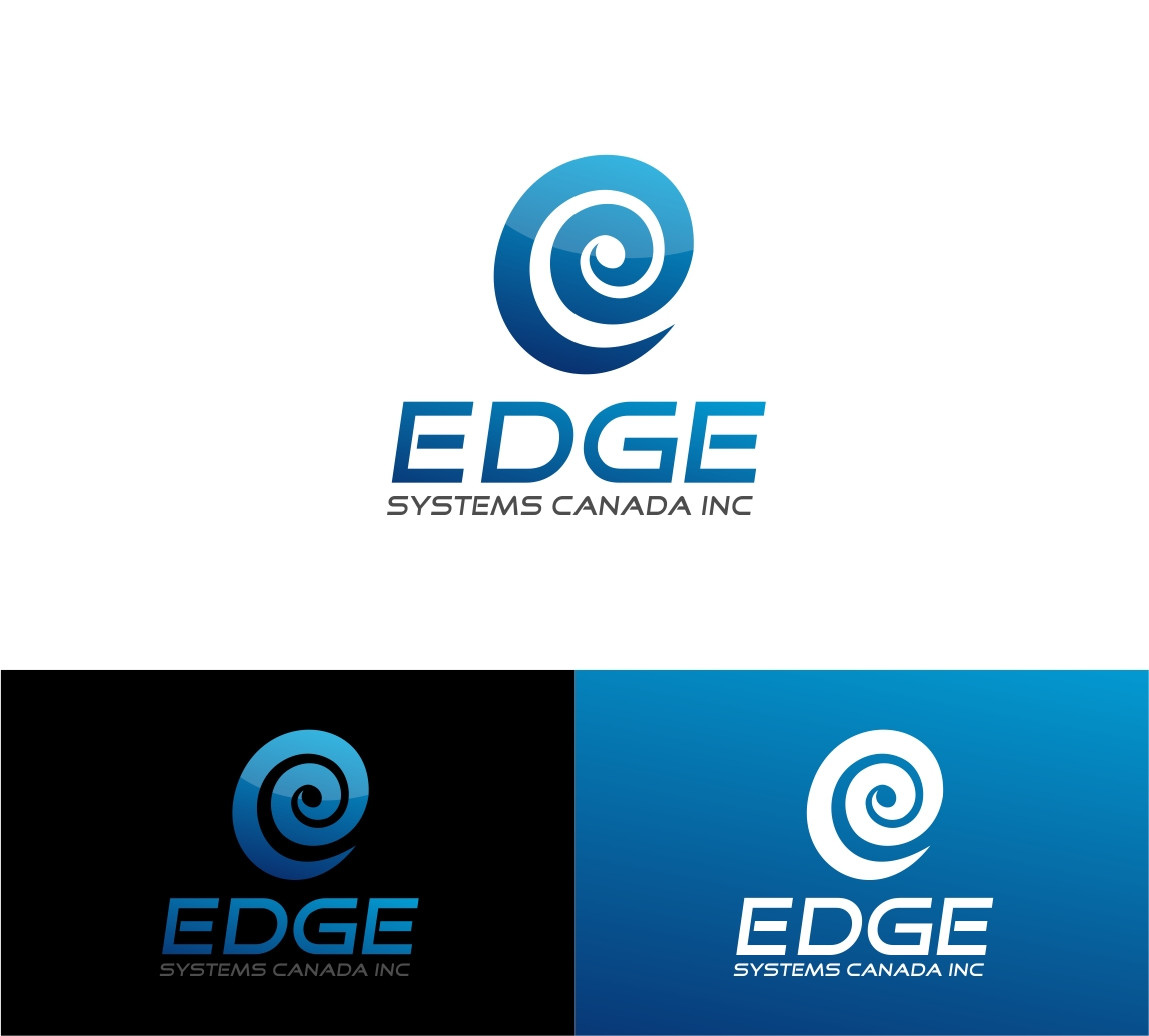 Logo Design by haidu - Entry No. 47 in the Logo Design Contest New Logo Design for Edge Systems Canada Inc.