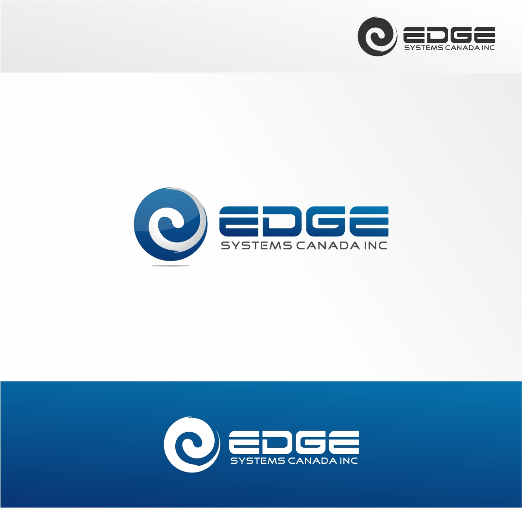 Logo Design by haidu - Entry No. 49 in the Logo Design Contest New Logo Design for Edge Systems Canada Inc.