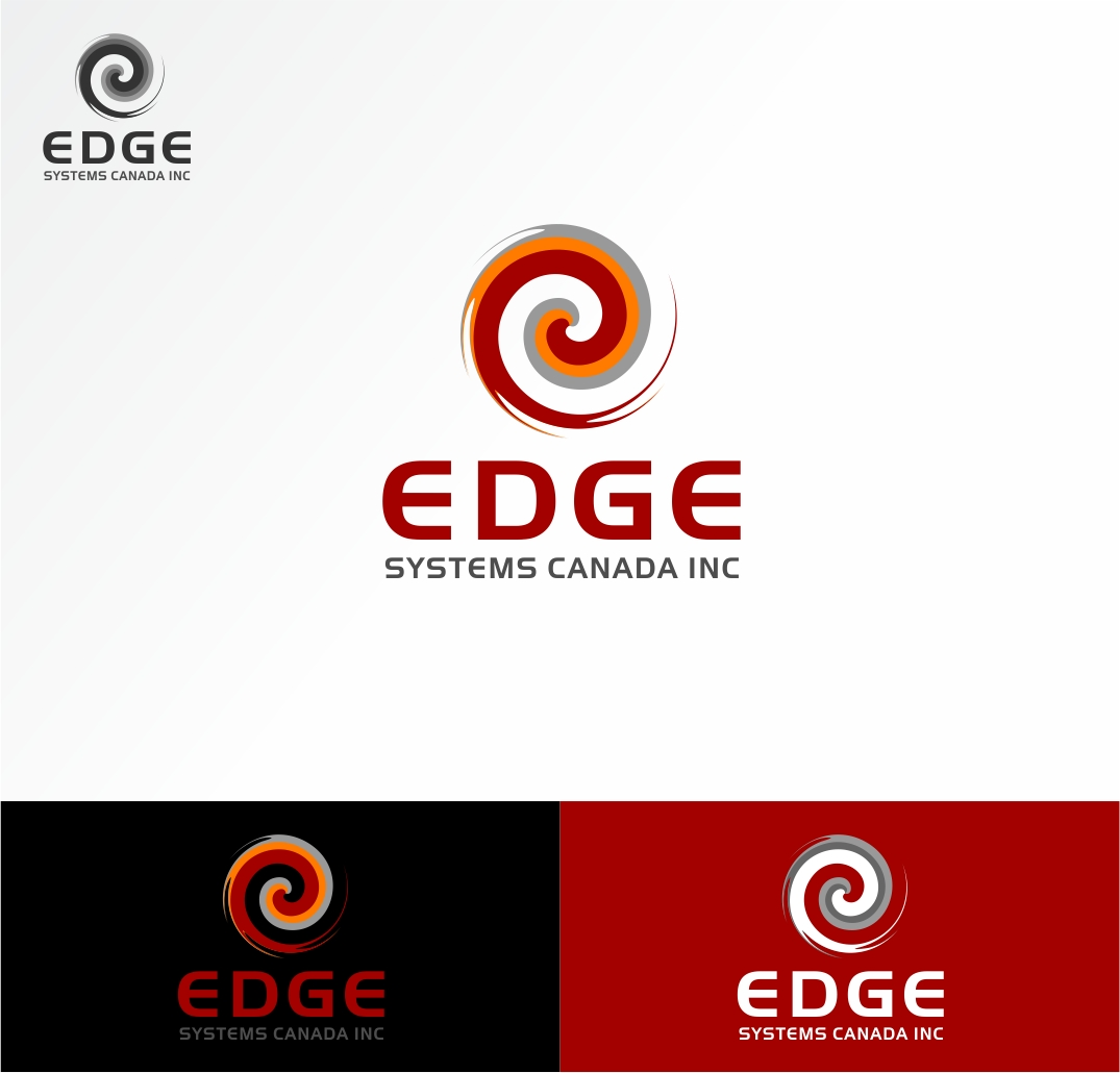Logo Design by haidu - Entry No. 51 in the Logo Design Contest New Logo Design for Edge Systems Canada Inc.