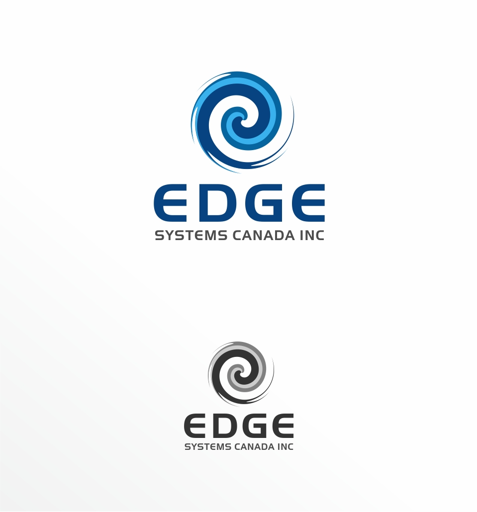 Logo Design by haidu - Entry No. 52 in the Logo Design Contest New Logo Design for Edge Systems Canada Inc.