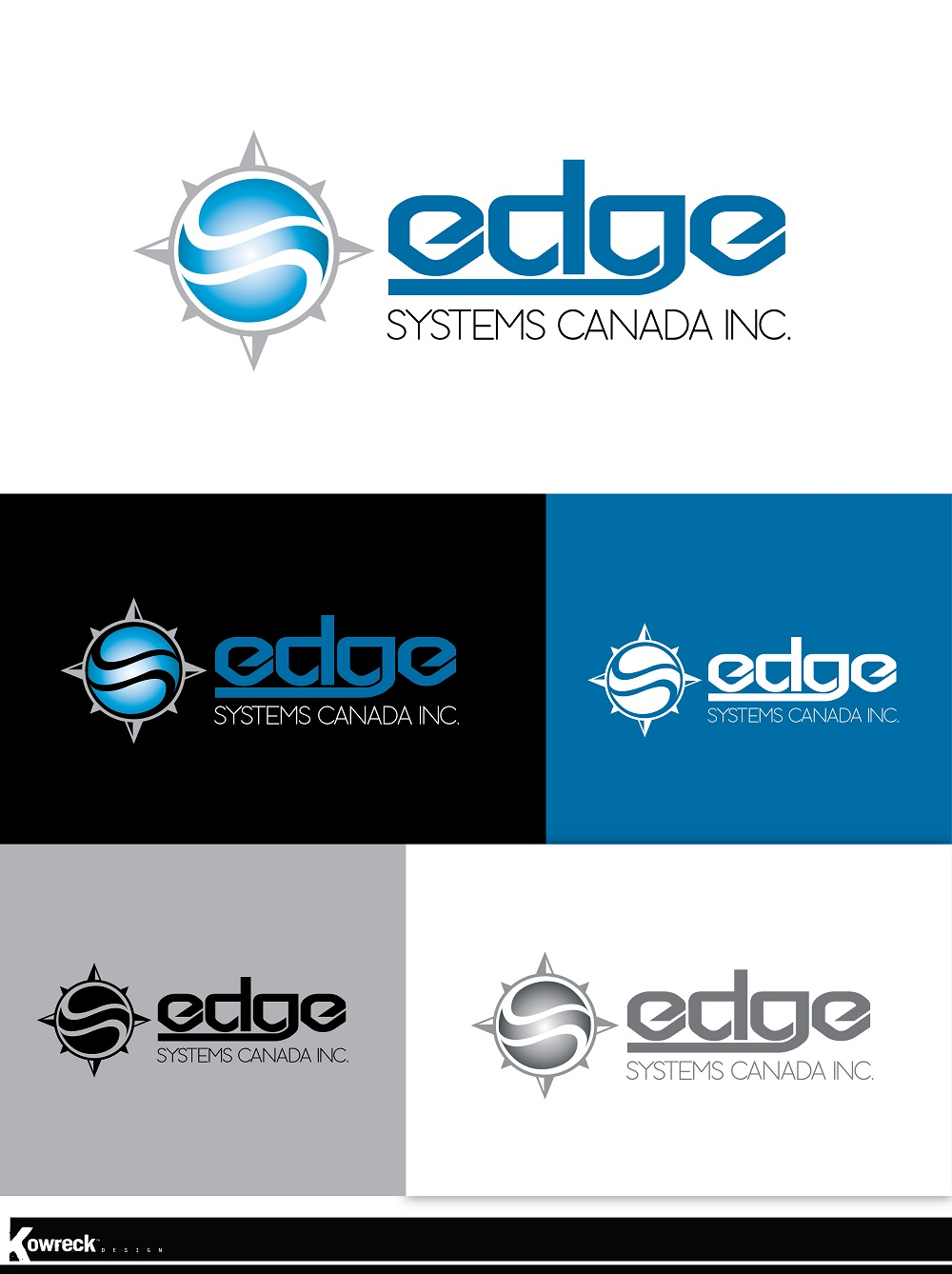 Logo Design by kowreck - Entry No. 53 in the Logo Design Contest New Logo Design for Edge Systems Canada Inc.