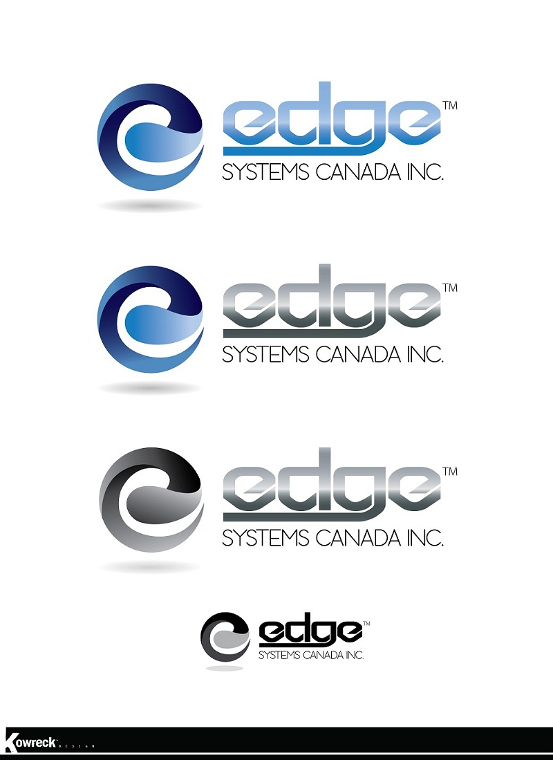 Logo Design by kowreck - Entry No. 54 in the Logo Design Contest New Logo Design for Edge Systems Canada Inc.