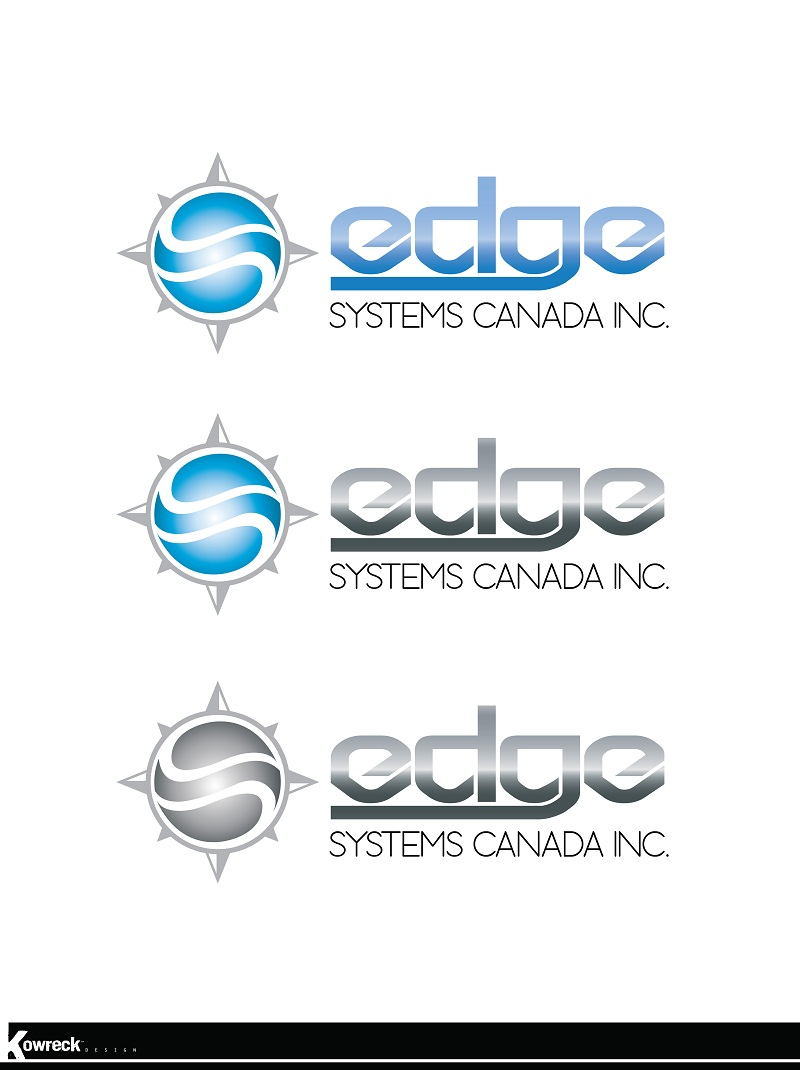 Logo Design by kowreck - Entry No. 55 in the Logo Design Contest New Logo Design for Edge Systems Canada Inc.