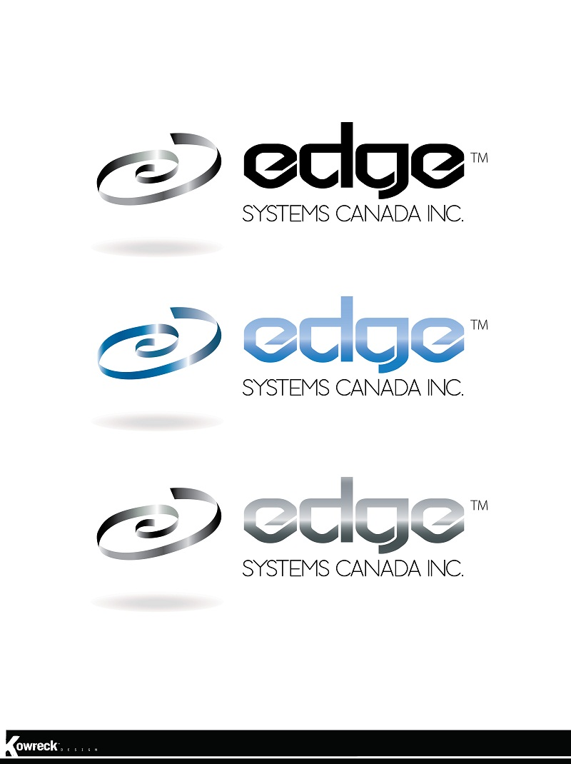 Logo Design by kowreck - Entry No. 56 in the Logo Design Contest New Logo Design for Edge Systems Canada Inc.