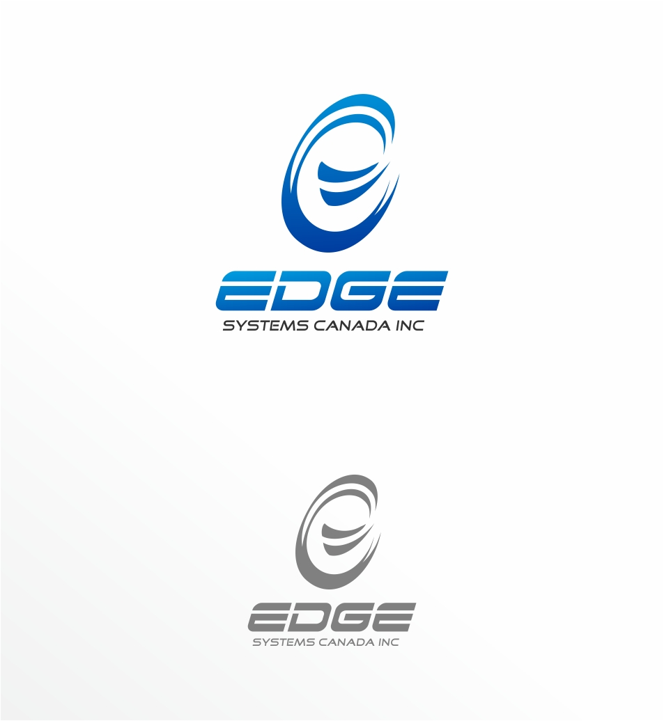 Logo Design by haidu - Entry No. 58 in the Logo Design Contest New Logo Design for Edge Systems Canada Inc.