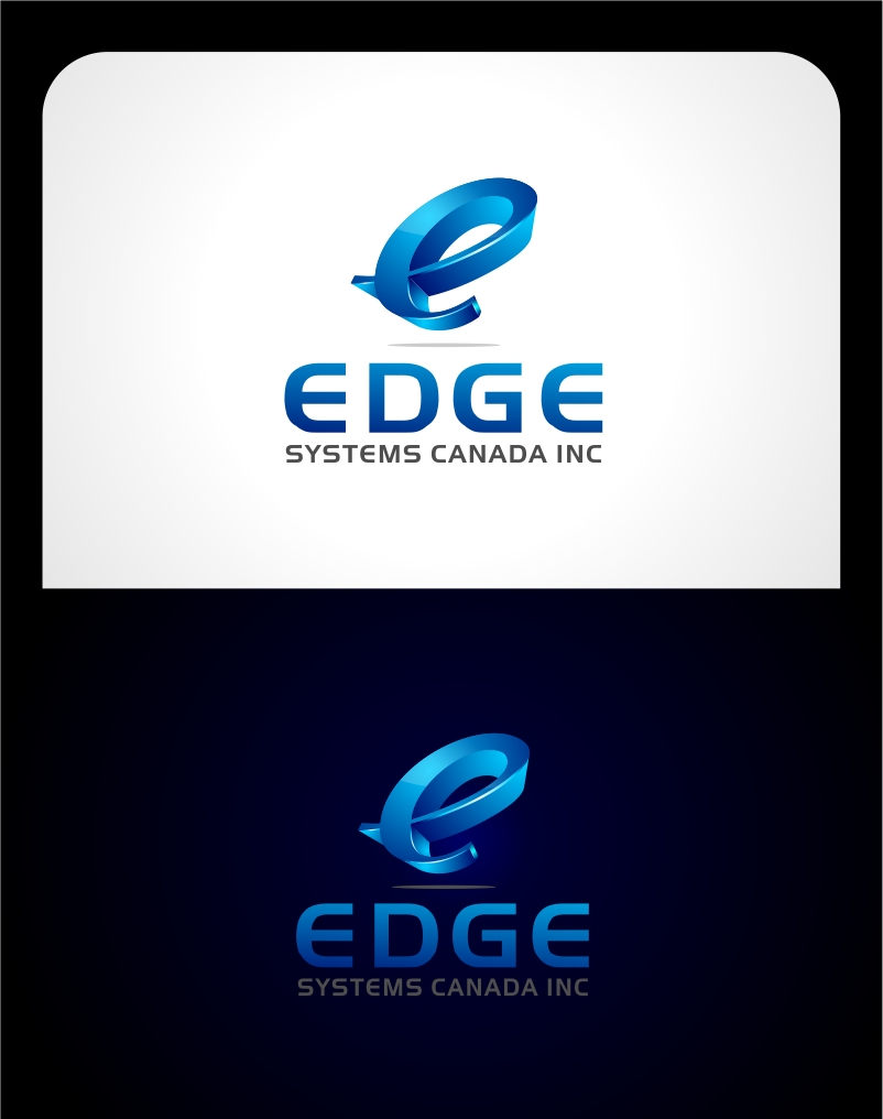 Logo Design by haidu - Entry No. 62 in the Logo Design Contest New Logo Design for Edge Systems Canada Inc.