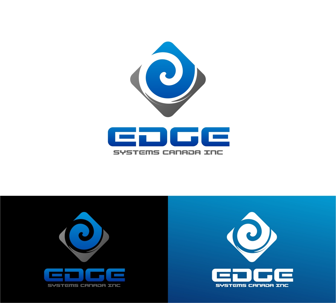 Logo Design by haidu - Entry No. 64 in the Logo Design Contest New Logo Design for Edge Systems Canada Inc.