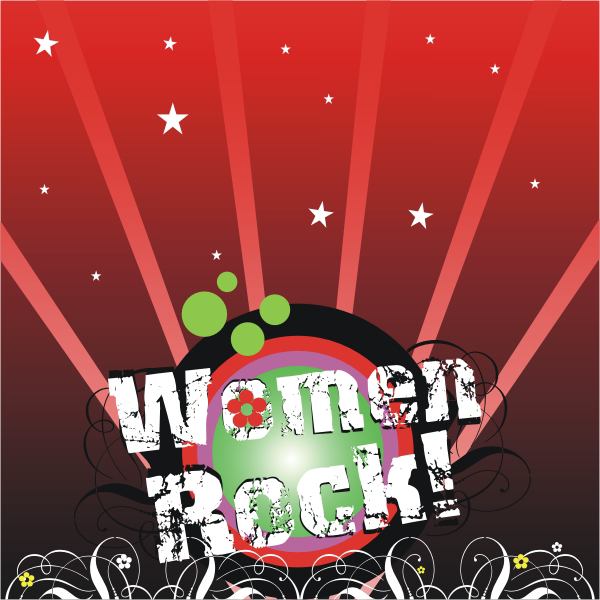 Logo Design by aspstudio - Entry No. 2 in the Logo Design Contest Women ROCK! - Dress for Success Pittsburgh.