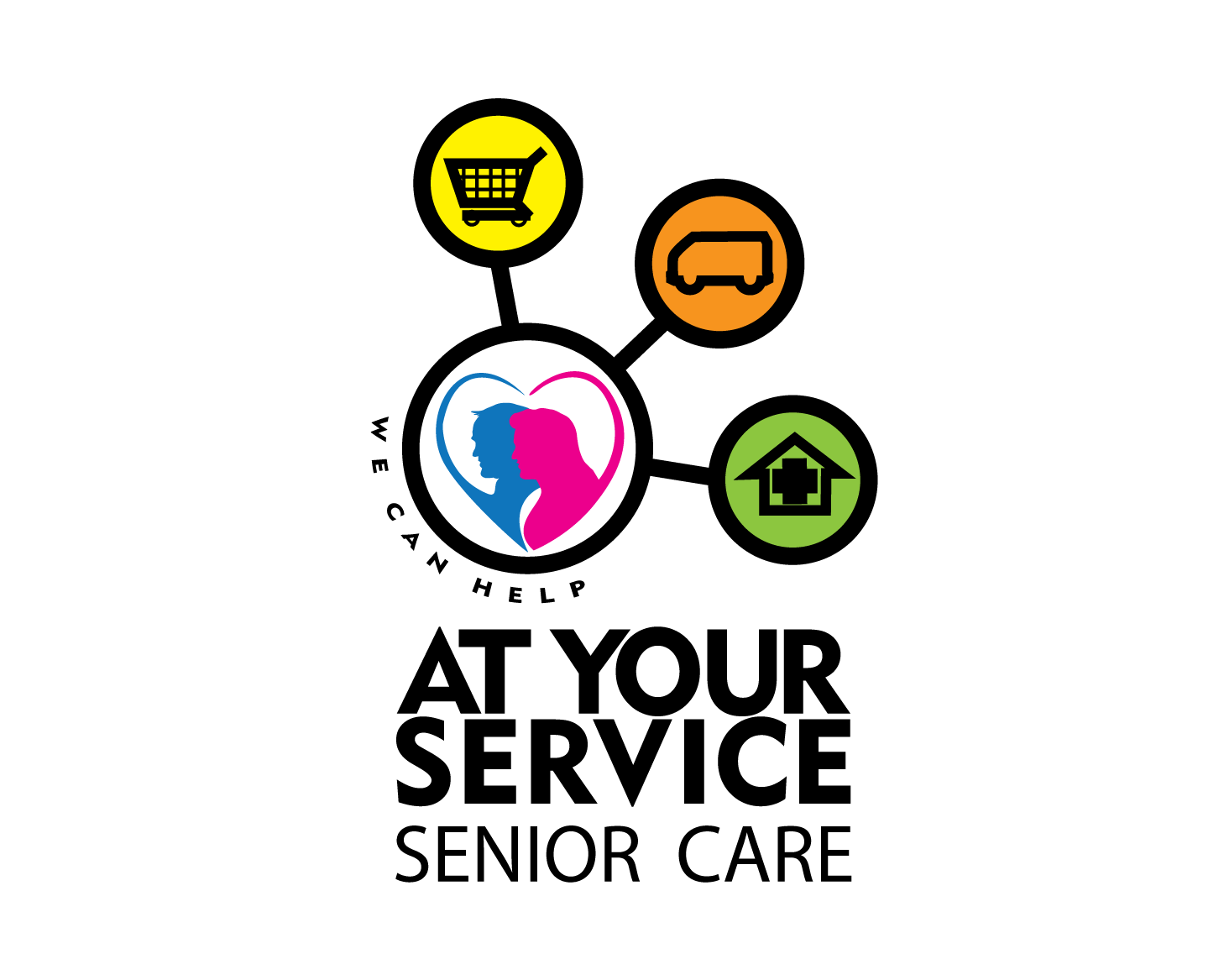 Logo Design by Roy Ferre - Entry No. 105 in the Logo Design Contest Care To Go Services.