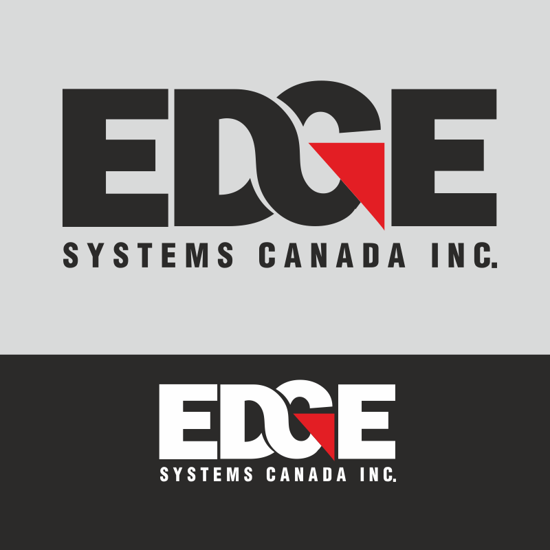 Logo Design by montoshlall - Entry No. 80 in the Logo Design Contest New Logo Design for Edge Systems Canada Inc.