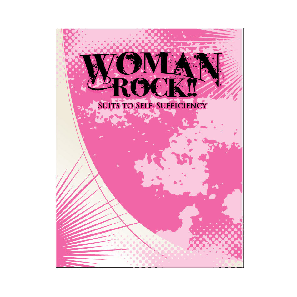 Logo Design by XYBER9-design - Entry No. 3 in the Logo Design Contest Women ROCK! - Dress for Success Pittsburgh.