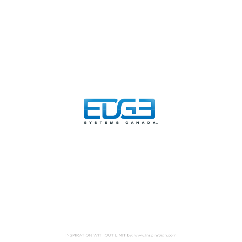 Logo Design by InspiraSign - Entry No. 82 in the Logo Design Contest New Logo Design for Edge Systems Canada Inc.