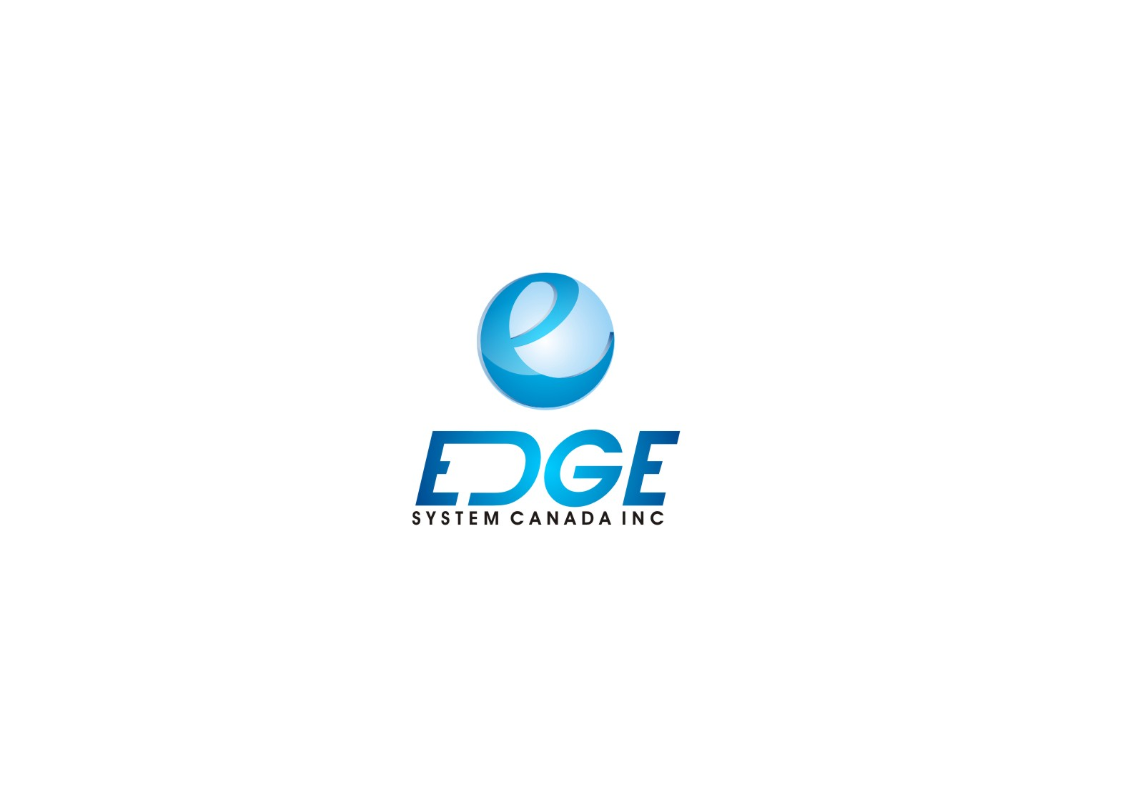 Logo Design by yanxsant - Entry No. 94 in the Logo Design Contest New Logo Design for Edge Systems Canada Inc.