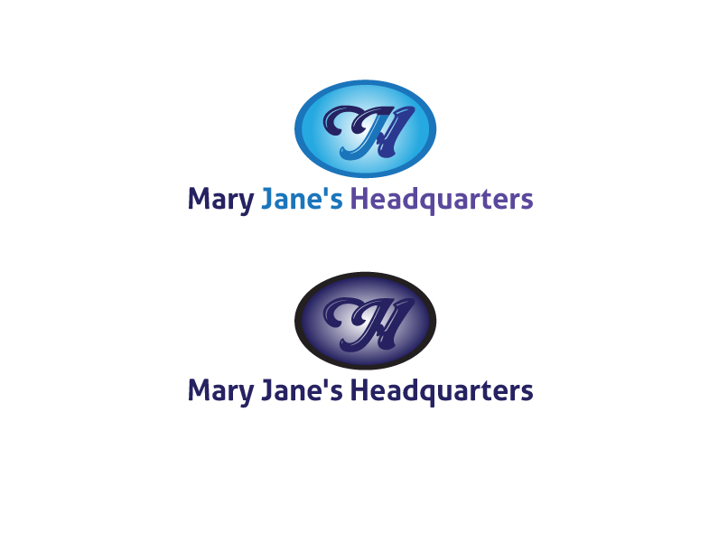 Logo Design by 3draw - Entry No. 7 in the Logo Design Contest Mary Jane's Headquarters Logo Design.