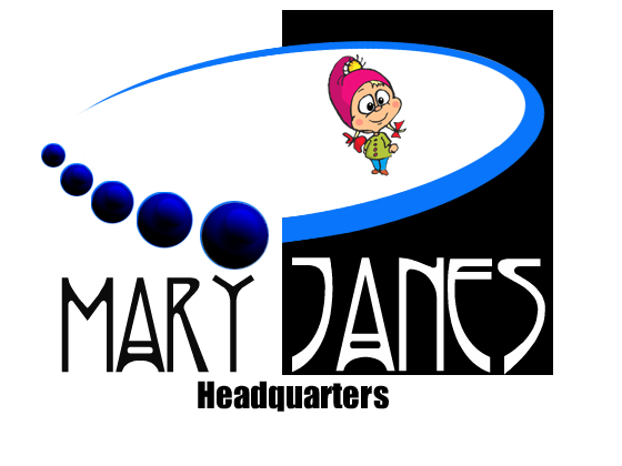 Logo Design by Barry Hodkinson - Entry No. 8 in the Logo Design Contest Mary Jane's Headquarters Logo Design.
