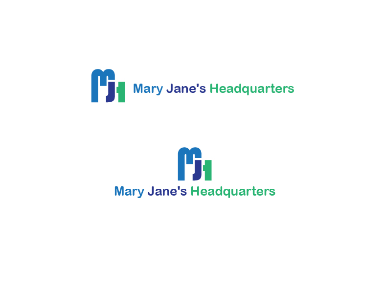 Logo Design by 3draw - Entry No. 9 in the Logo Design Contest Mary Jane's Headquarters Logo Design.