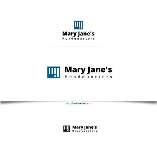 Logo Design by Chandrika Sah - Entry No. 11 in the Logo Design Contest Mary Jane's Headquarters Logo Design.