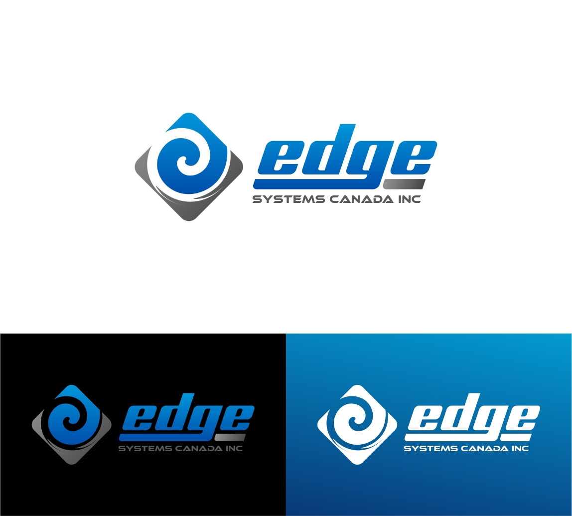 Logo Design by haidu - Entry No. 104 in the Logo Design Contest New Logo Design for Edge Systems Canada Inc.