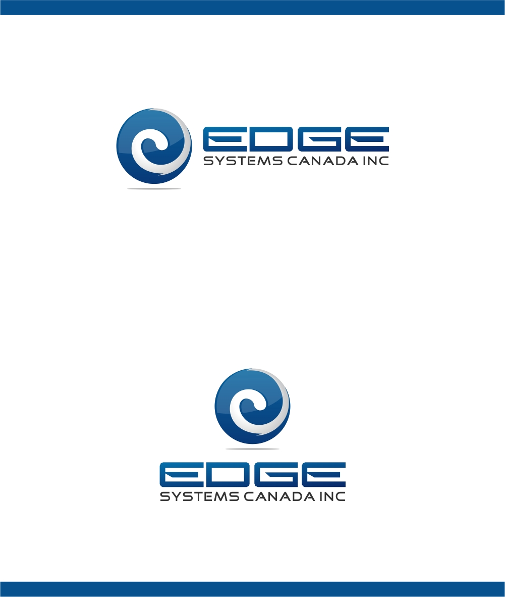 Logo Design by haidu - Entry No. 105 in the Logo Design Contest New Logo Design for Edge Systems Canada Inc.