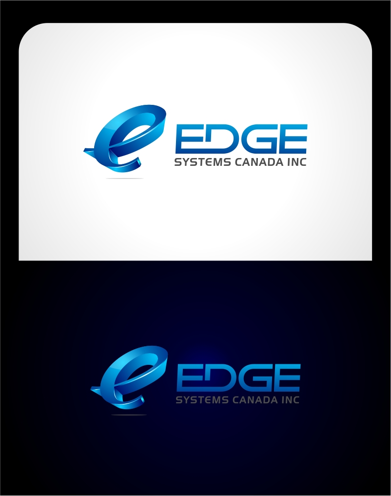Logo Design by haidu - Entry No. 106 in the Logo Design Contest New Logo Design for Edge Systems Canada Inc.