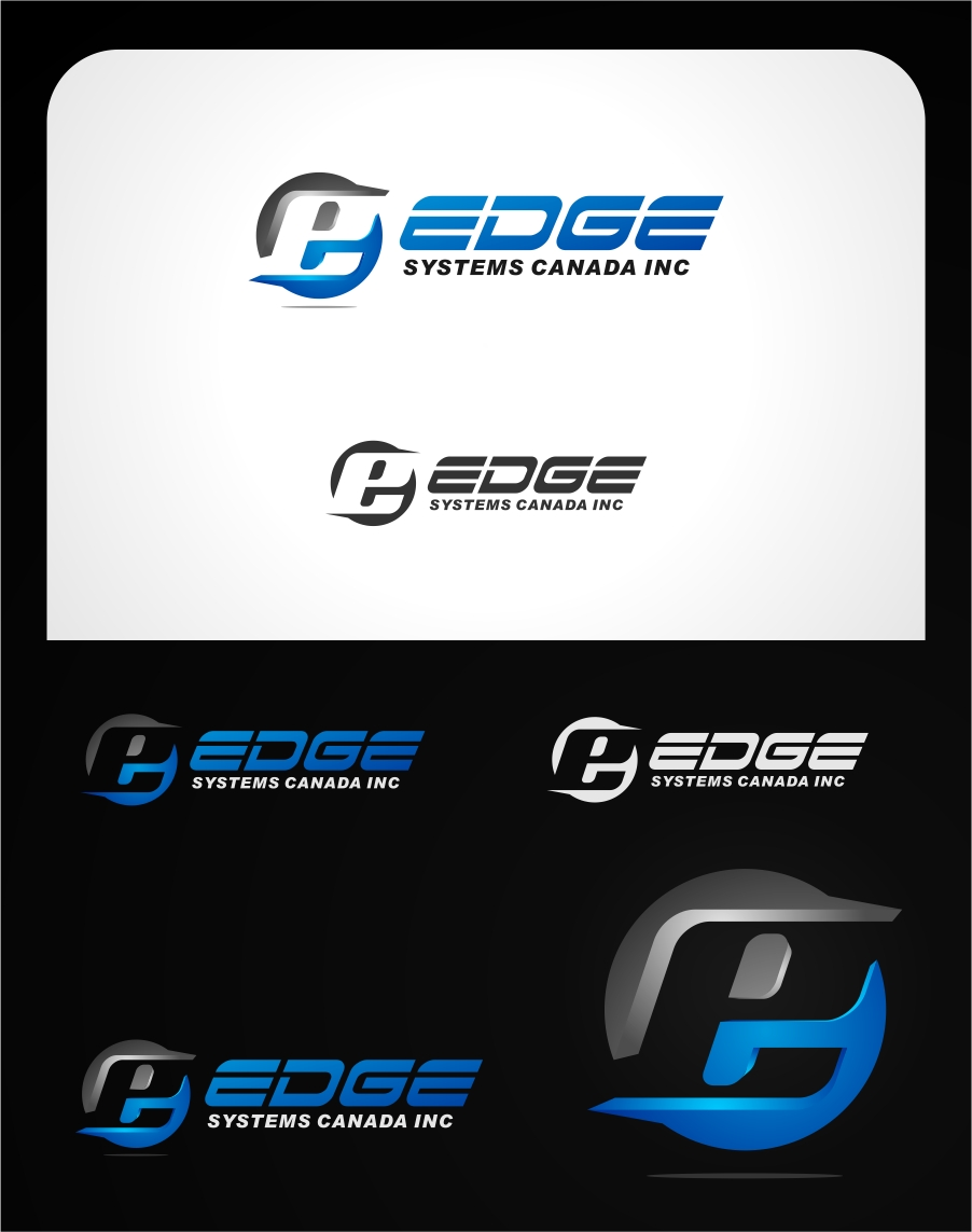 Logo Design by haidu - Entry No. 113 in the Logo Design Contest New Logo Design for Edge Systems Canada Inc.