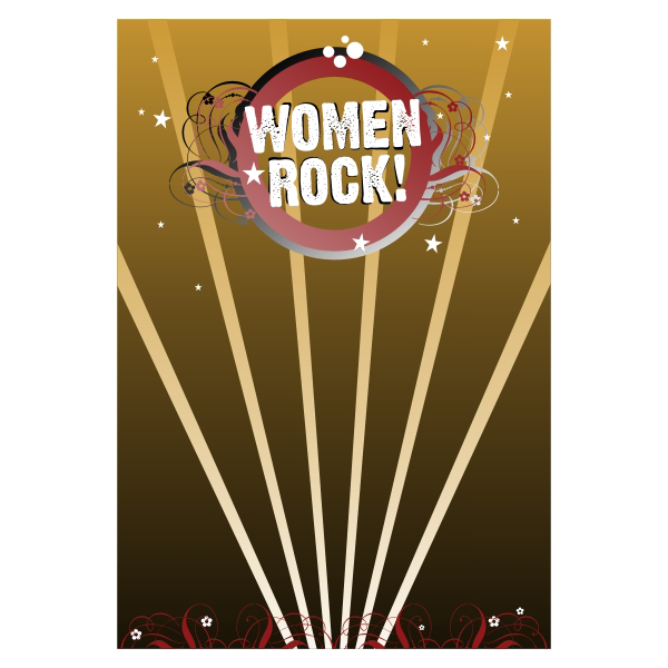 Logo Design by aspstudio - Entry No. 6 in the Logo Design Contest Women ROCK! - Dress for Success Pittsburgh.