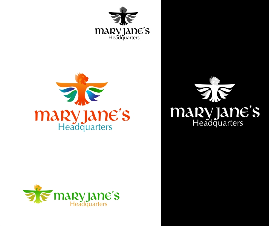 Logo Design by Private User - Entry No. 15 in the Logo Design Contest Mary Jane's Headquarters Logo Design.