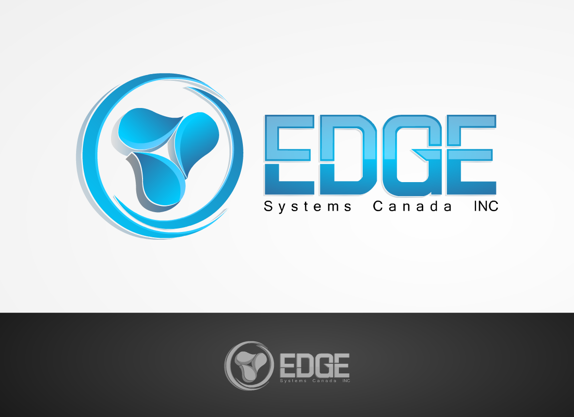 Logo Design by Marcky Halsky - Entry No. 120 in the Logo Design Contest New Logo Design for Edge Systems Canada Inc.