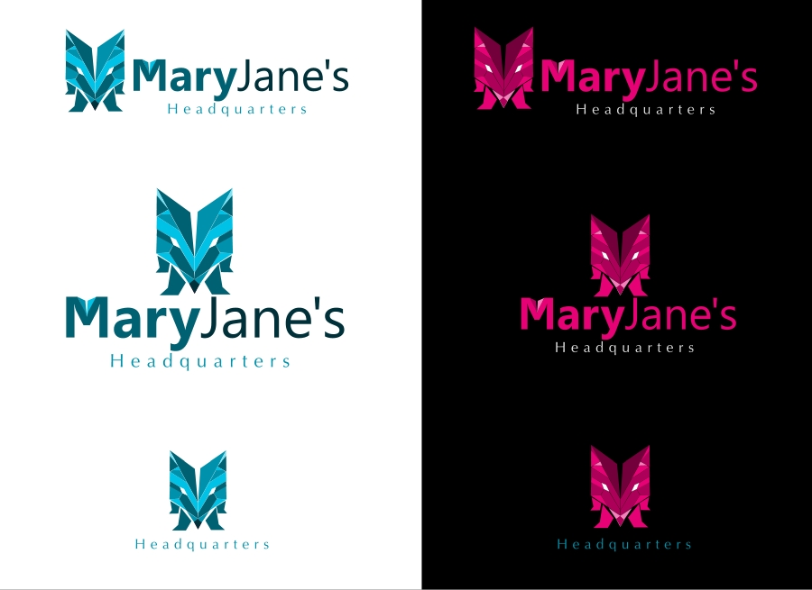 Logo Design by Private User - Entry No. 19 in the Logo Design Contest Mary Jane's Headquarters Logo Design.