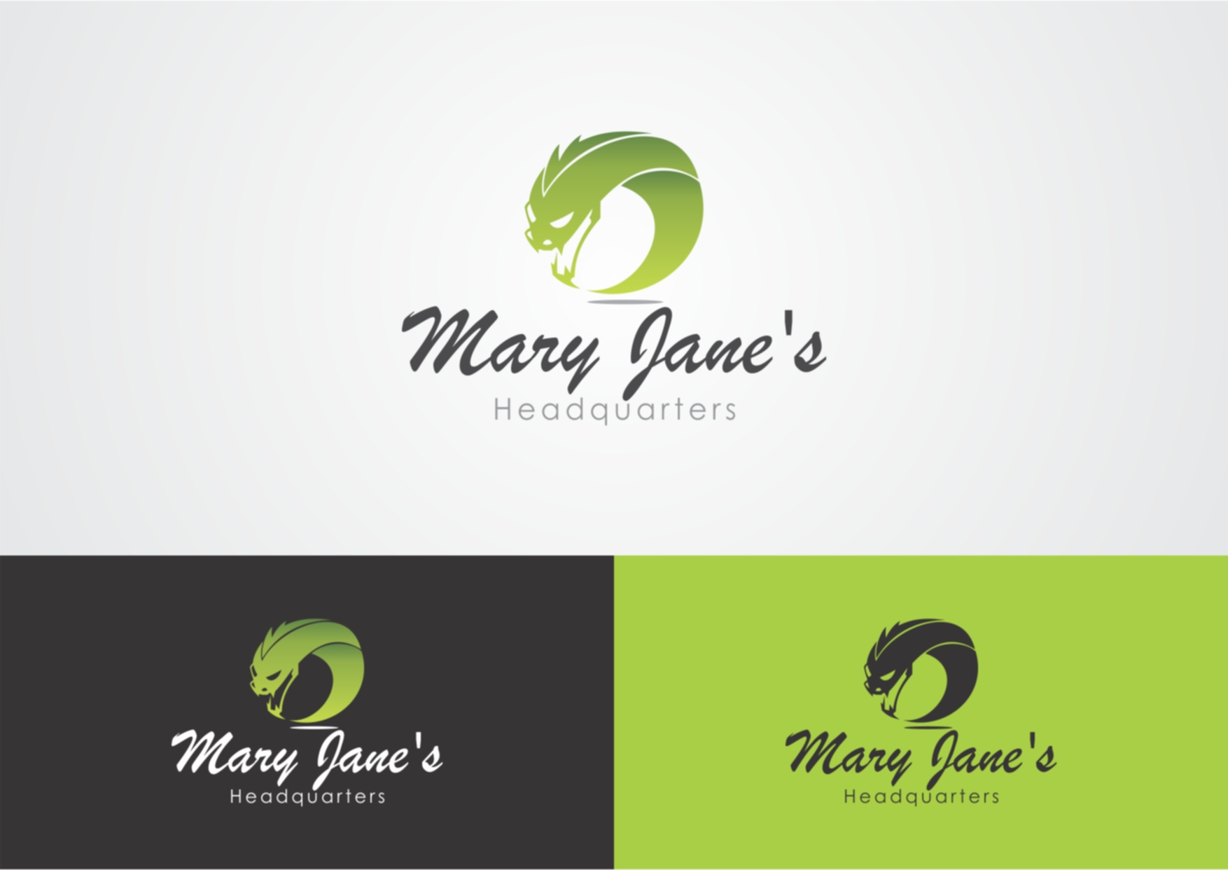 Logo Design by Private User - Entry No. 26 in the Logo Design Contest Mary Jane's Headquarters Logo Design.