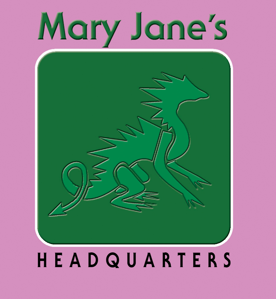 Logo Design by Kitz Clear - Entry No. 32 in the Logo Design Contest Mary Jane's Headquarters Logo Design.
