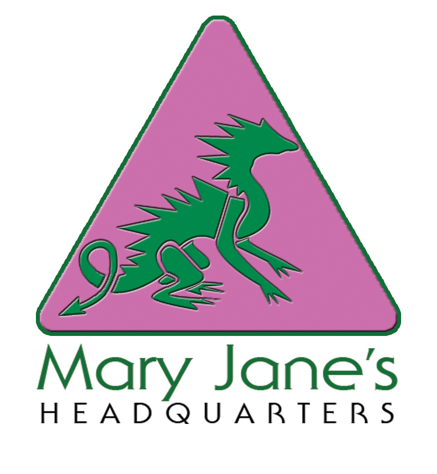 Logo Design by Kitz Clear - Entry No. 33 in the Logo Design Contest Mary Jane's Headquarters Logo Design.