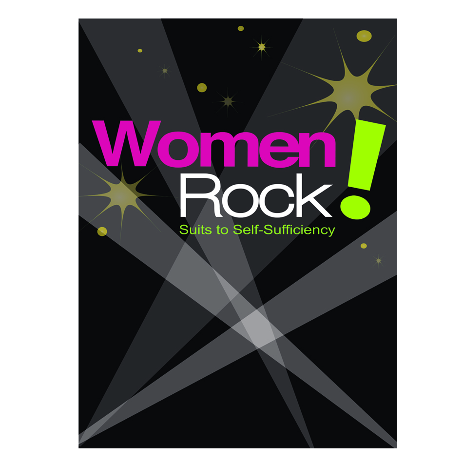 Logo Design by designlot - Entry No. 7 in the Logo Design Contest Women ROCK! - Dress for Success Pittsburgh.