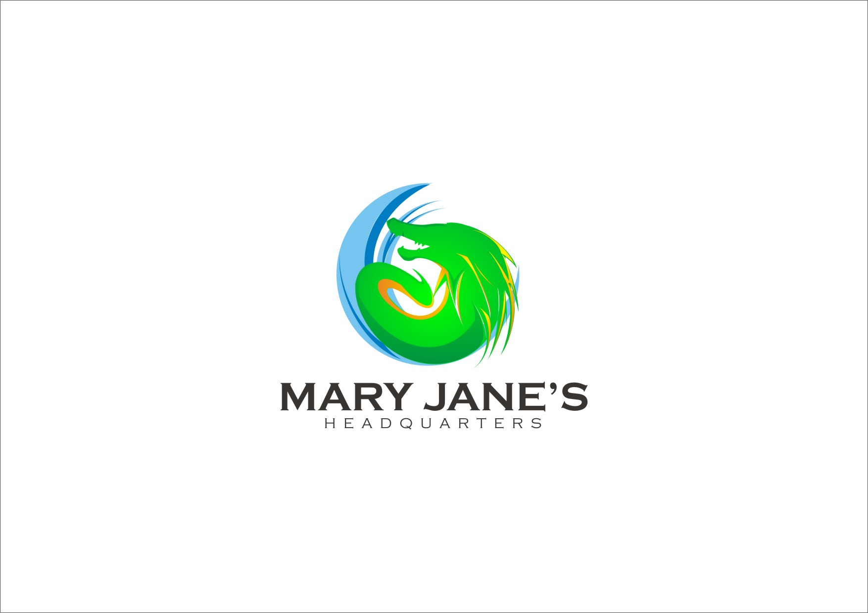Logo Design by yanxsant - Entry No. 35 in the Logo Design Contest Mary Jane's Headquarters Logo Design.