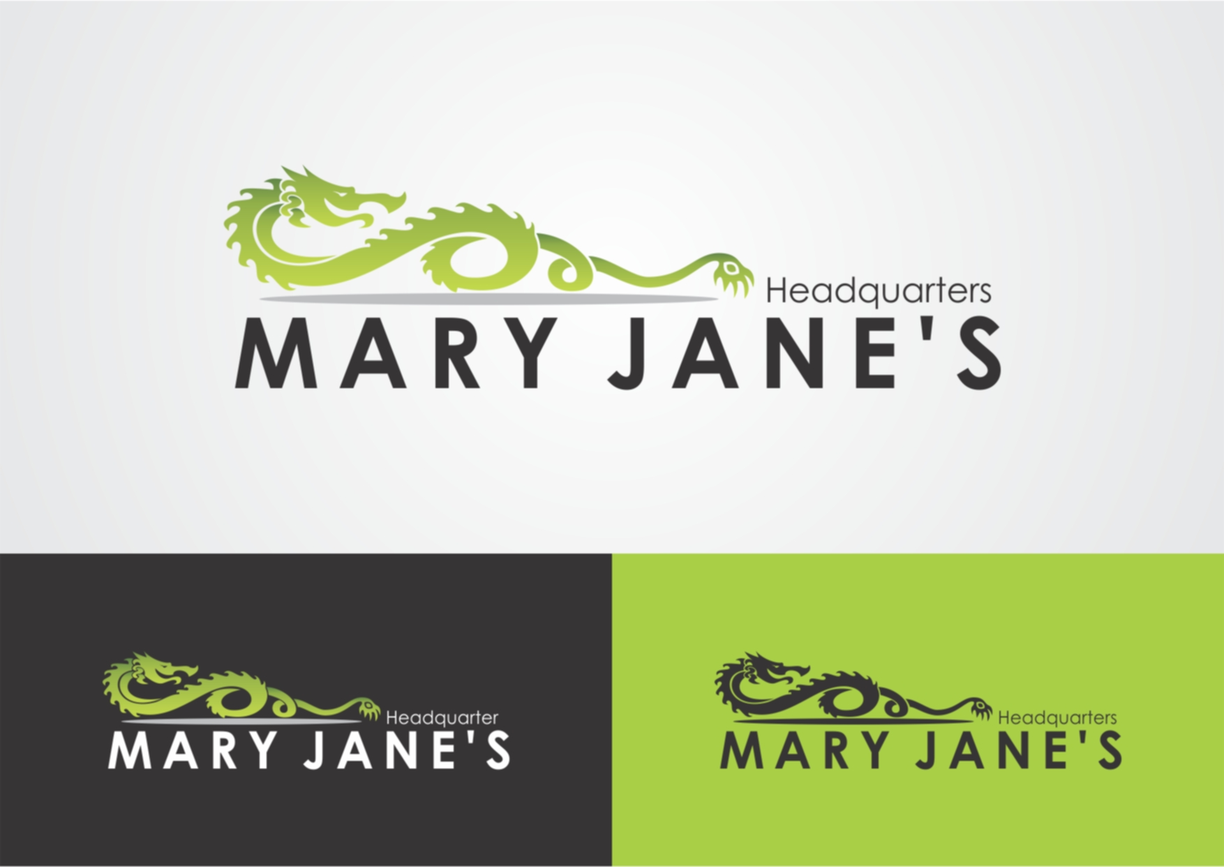 Logo Design by Private User - Entry No. 36 in the Logo Design Contest Mary Jane's Headquarters Logo Design.