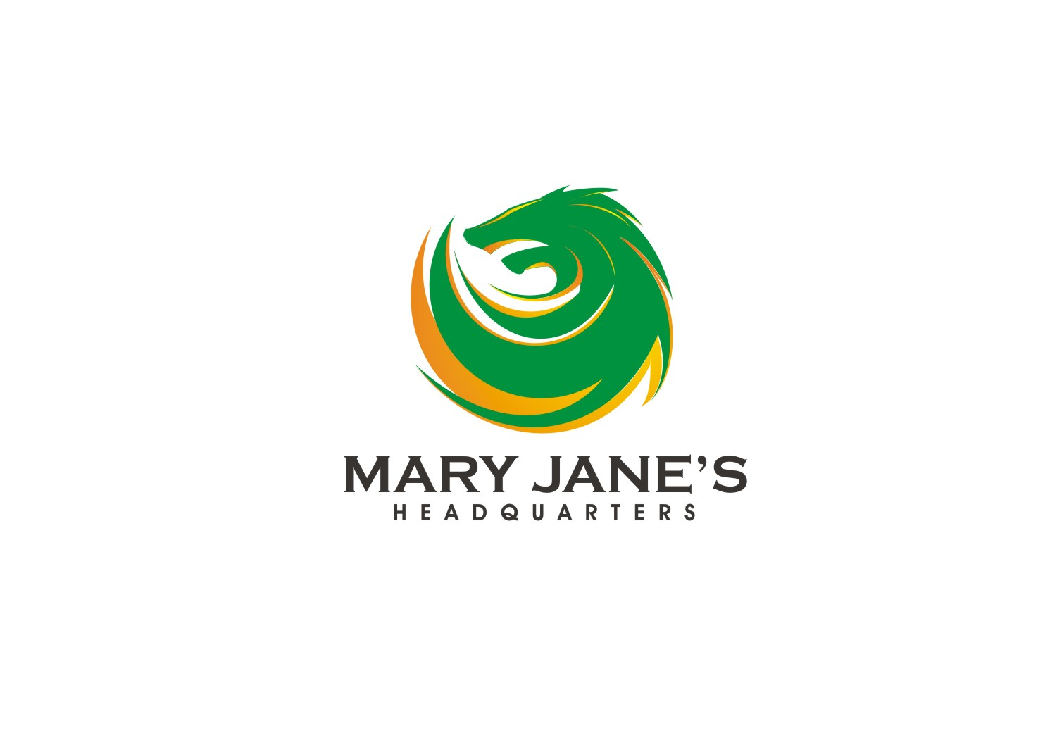 Logo Design by yanxsant - Entry No. 37 in the Logo Design Contest Mary Jane's Headquarters Logo Design.