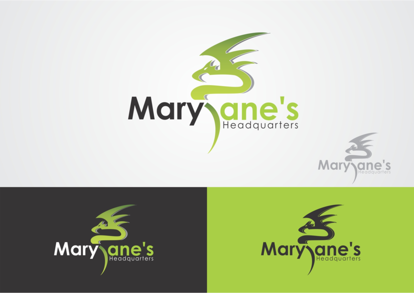 Logo Design by Private User - Entry No. 38 in the Logo Design Contest Mary Jane's Headquarters Logo Design.