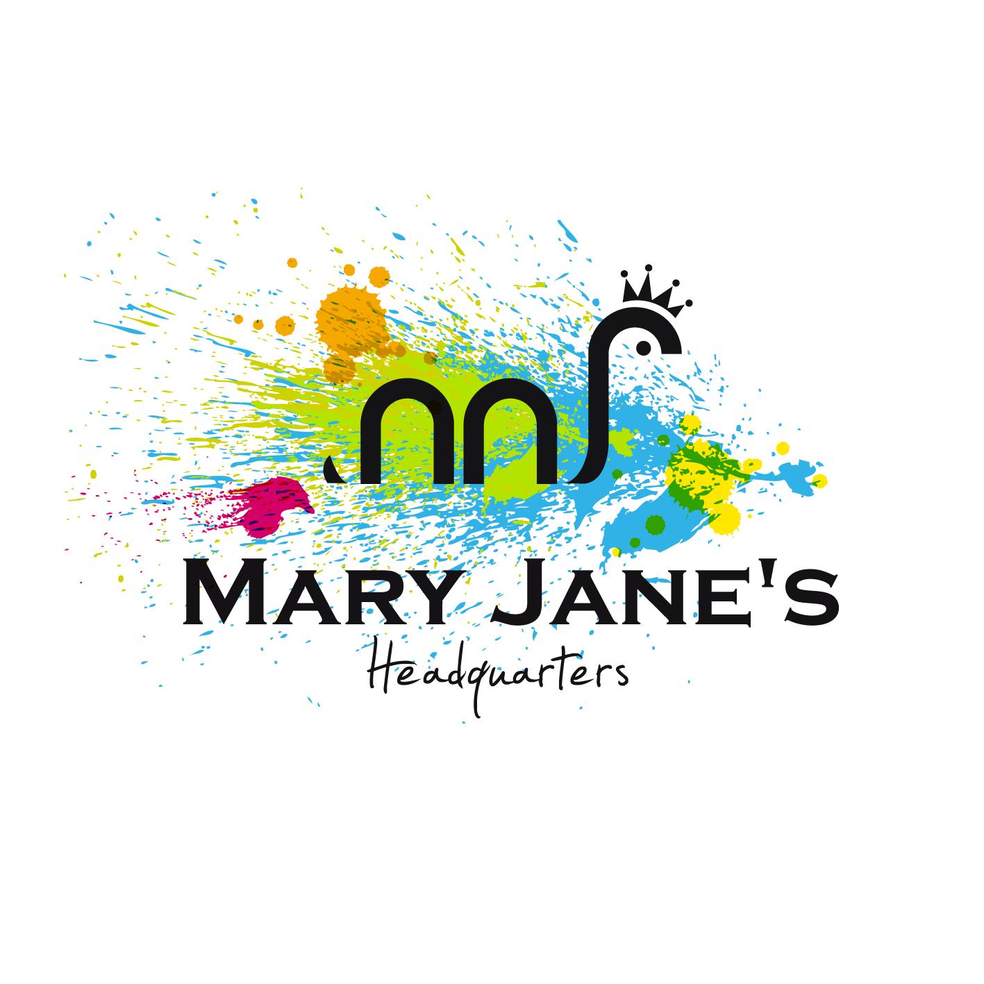 Logo Design by luna - Entry No. 41 in the Logo Design Contest Mary Jane's Headquarters Logo Design.