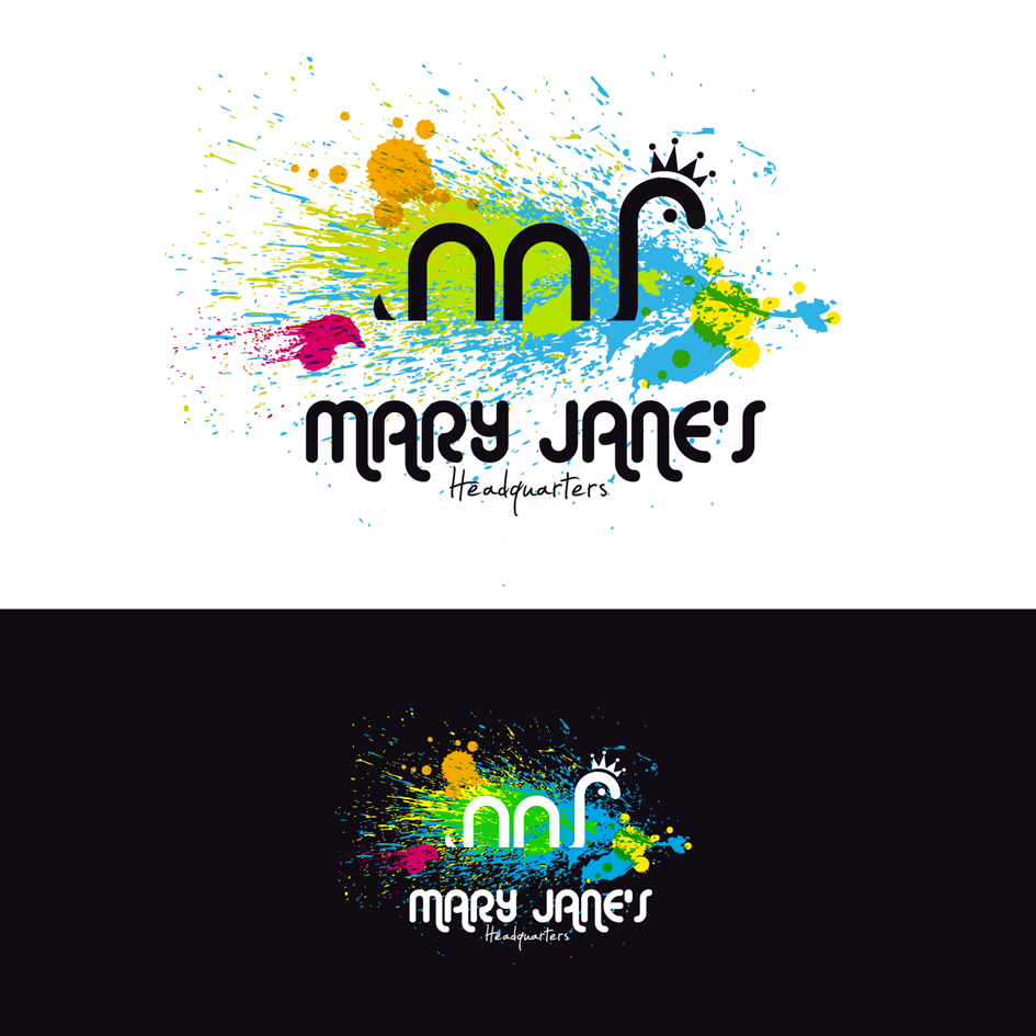 Logo Design by luna - Entry No. 45 in the Logo Design Contest Mary Jane's Headquarters Logo Design.