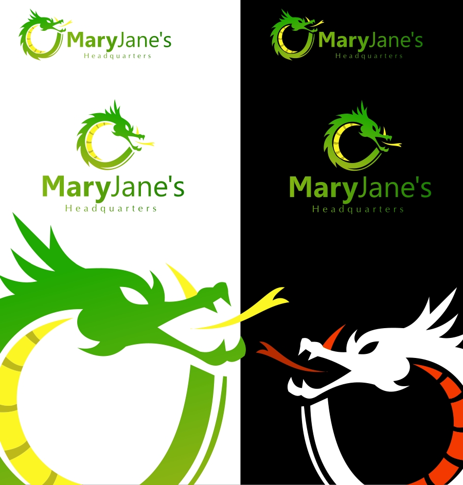 Logo Design by Private User - Entry No. 64 in the Logo Design Contest Mary Jane's Headquarters Logo Design.