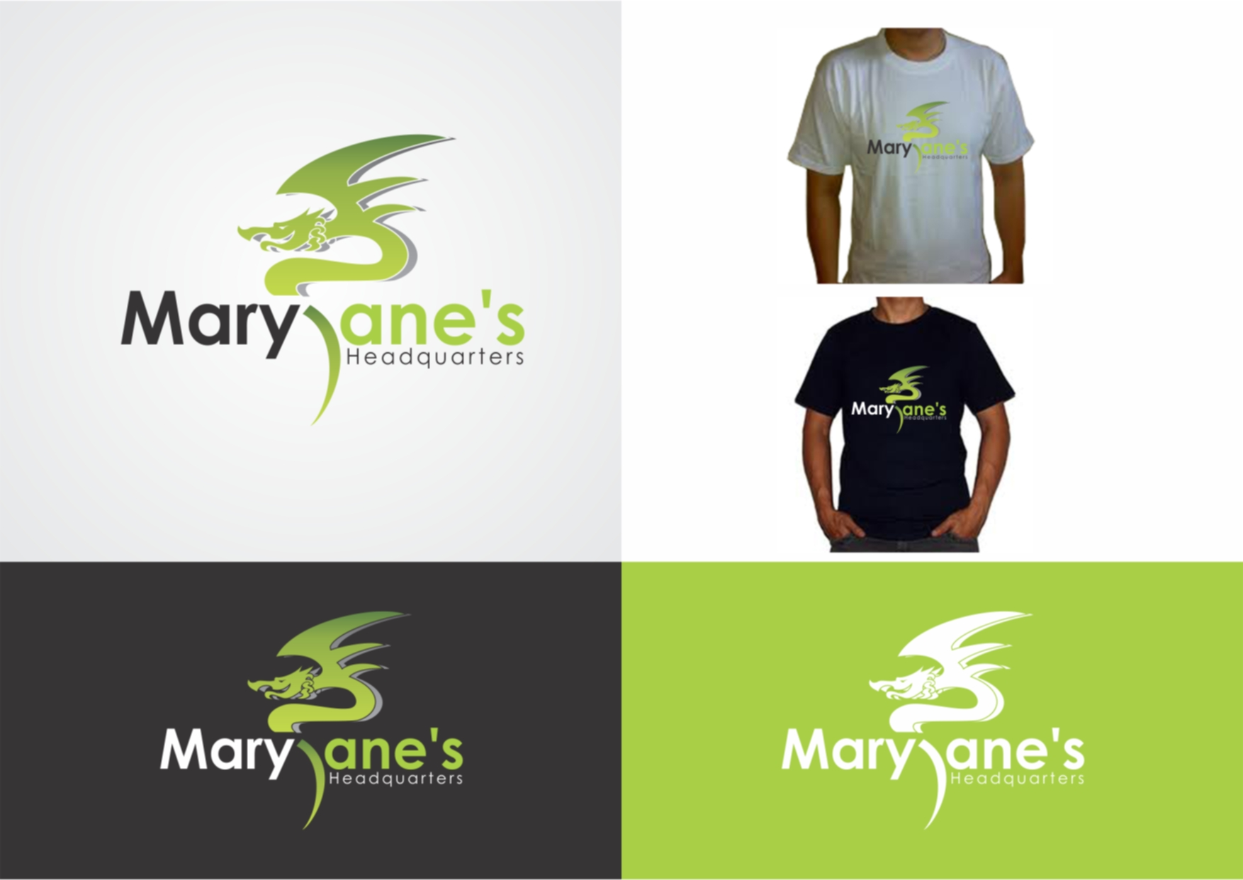 Logo Design by Private User - Entry No. 69 in the Logo Design Contest Mary Jane's Headquarters Logo Design.