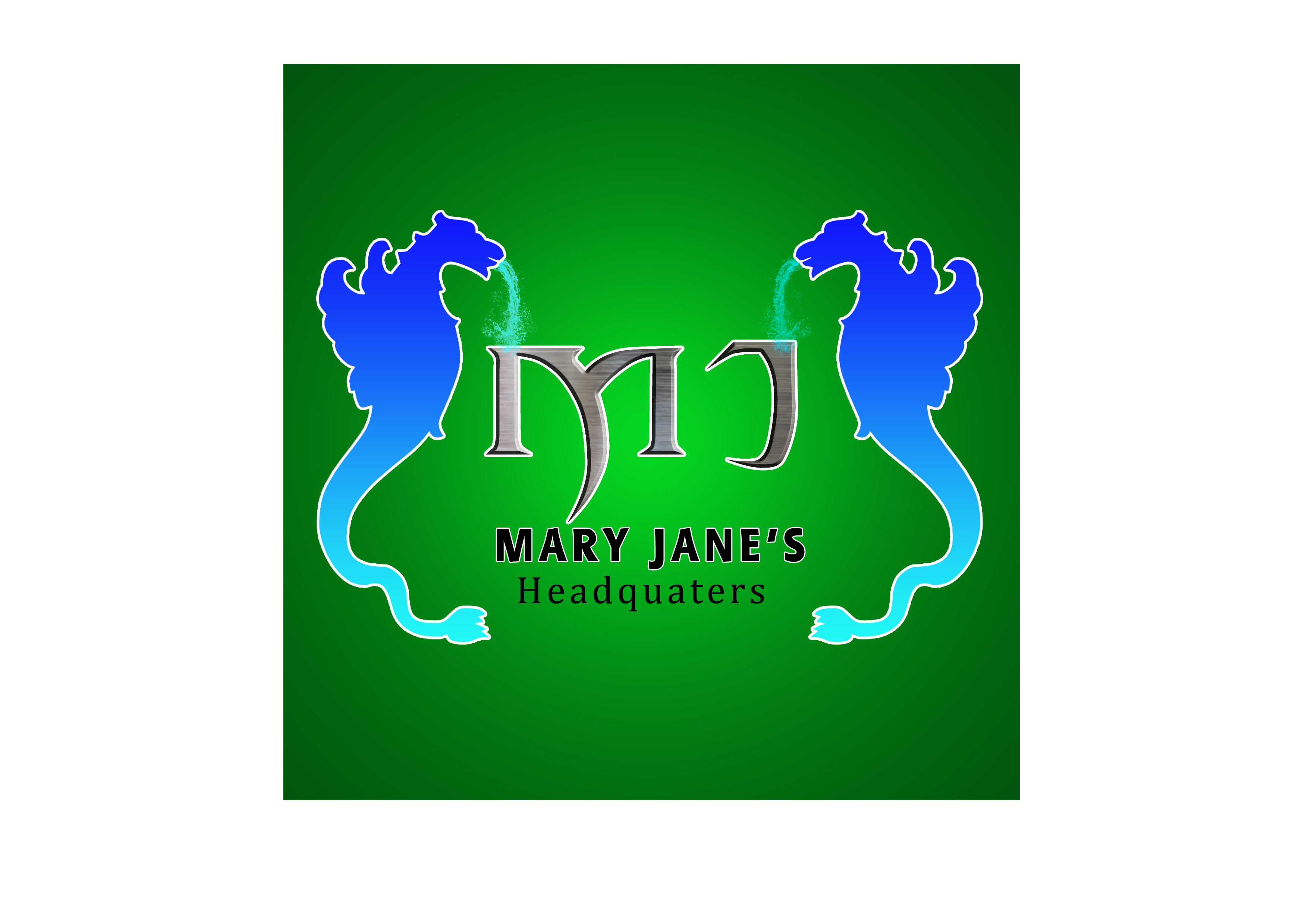 Logo Design by intentio_graphikos - Entry No. 75 in the Logo Design Contest Mary Jane's Headquarters Logo Design.