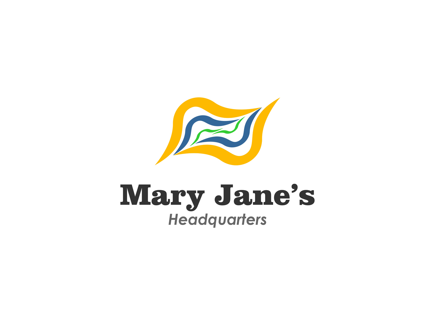 Logo Design by Qoaldjsk - Entry No. 77 in the Logo Design Contest Mary Jane's Headquarters Logo Design.